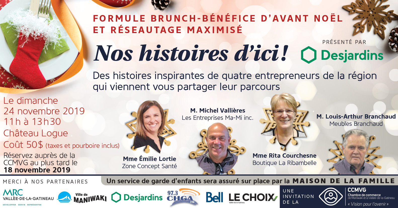 Brunch dAvant Noël 2019 Réf FB